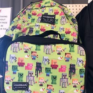 Other - Minecraft Kids Backpack NWT